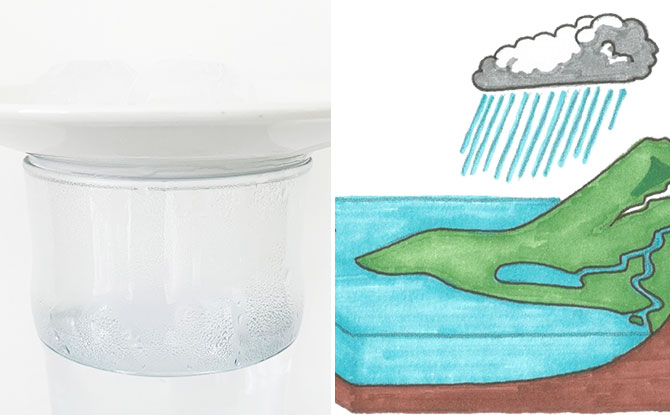 Science Sunday: Rain In A Glass
