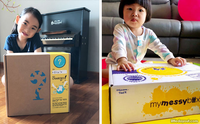 Subscription Boxes For Kids In Singapore: A Review Of Curious Kits And My Messy Box