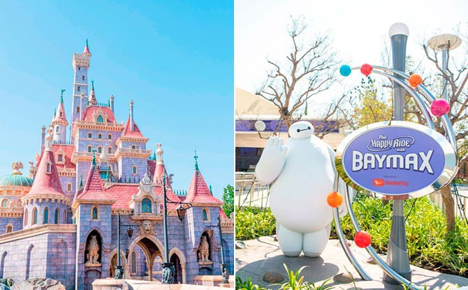 Tokyo Disneyland's Beauty And The Beast & Baymax Attractions Are Opening End Sep 2020