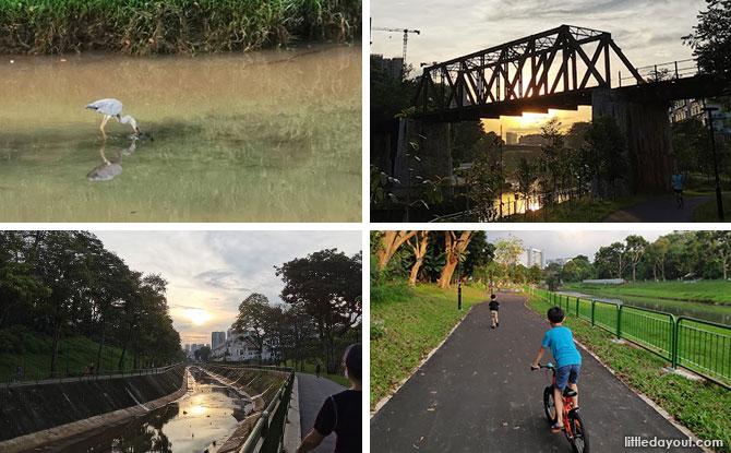 Ulu Pandan Park Connector: Scenic Route Along The Sungei Pandan Canal