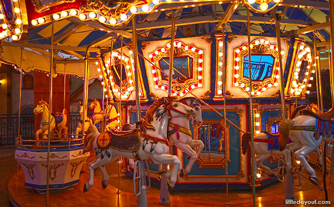 Carousel at One Mount Snow Park
