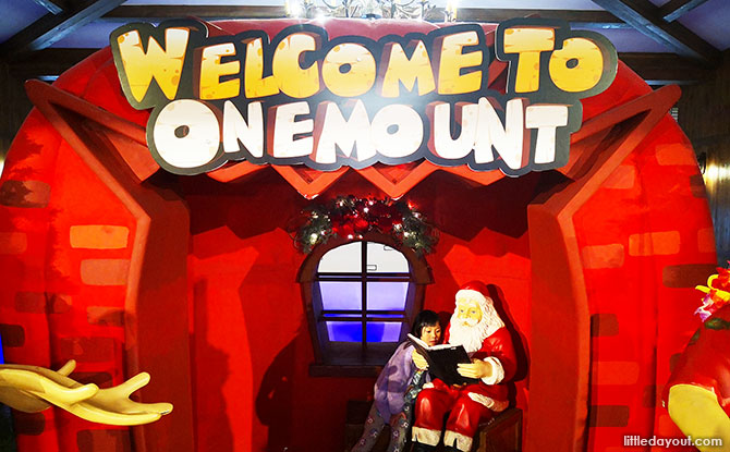 Santa at One Mount
