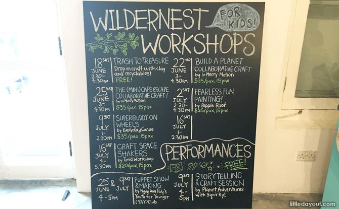 Wildernest Workshops