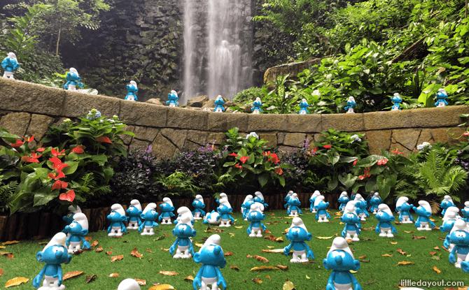 Smurfs' Lost Village at Jurong Bird Park