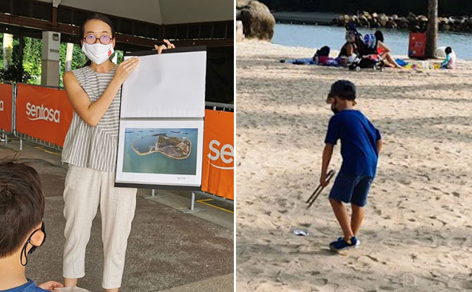 Sentosa's Marine ConservAction Programme: Have You Own Beach Clean-Up + Redeem A Sandcastle Kit