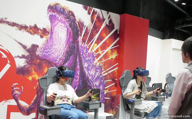 VR Zone Osaka: Heart-Stopping Fun At Osaka's VR Entertainment Facility