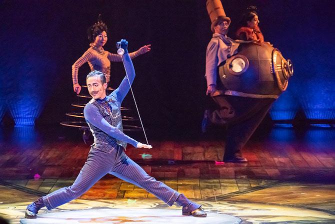 Review: KURIOS – Cabinet of Curiosities by Cirque du Soleil