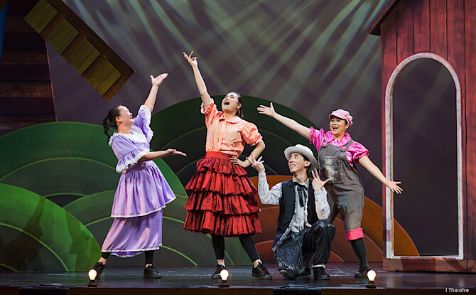 Review of I Theatre's Poultry Tales Musical