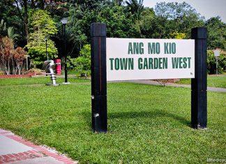 Park signboard