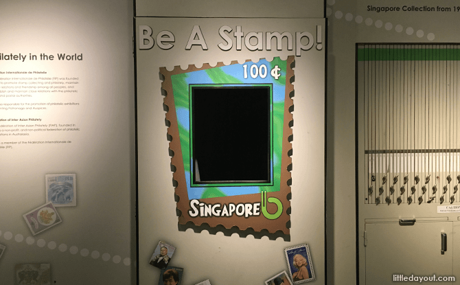 Be a Stamp, Singapore Stamp Museum