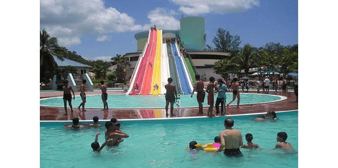 Big Splash When It Was a Water Park