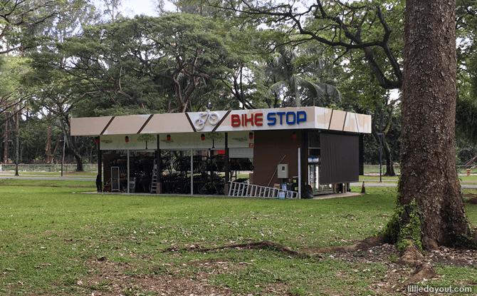 Bike Stop at Fort Road