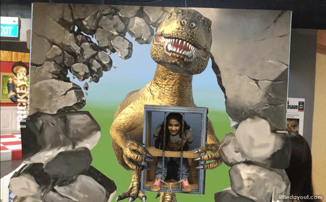 Prison of Dinosaur