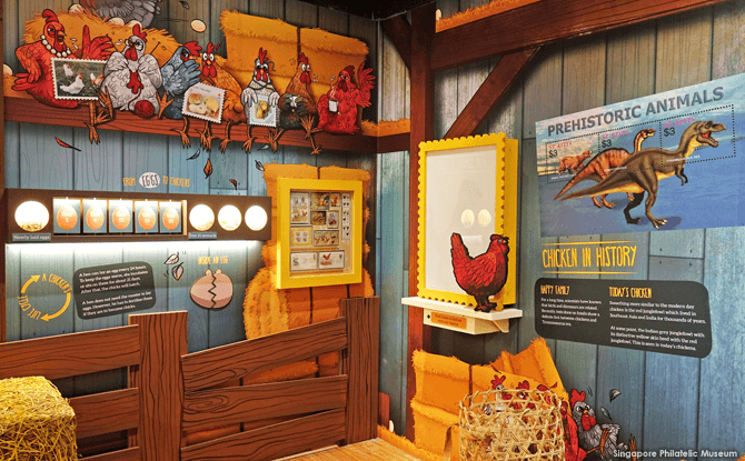 Chicken & Egg: A Fowl Tale - Singapore Philatelic Museum