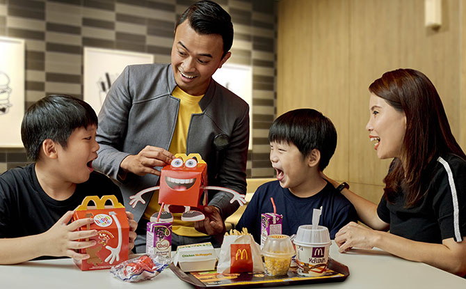McDonald's West Coast Park Revamp