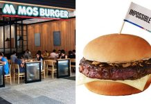 MOS Impossible Burger Now Available At Outlets Throughout Singapore For A Limited Time