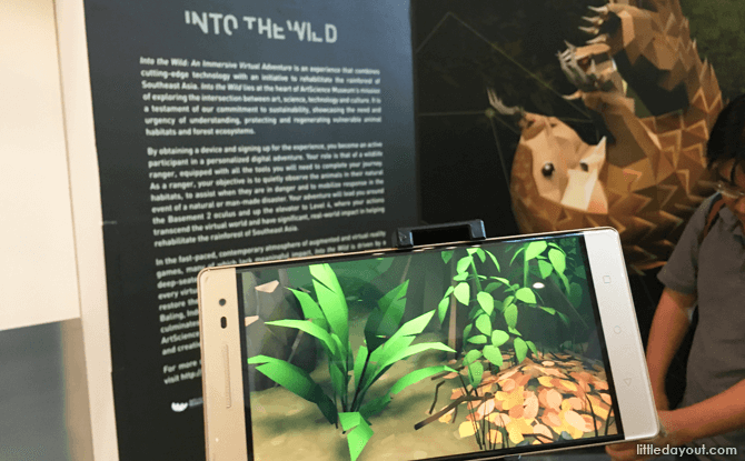 ArtScience Museum's Into the Wild