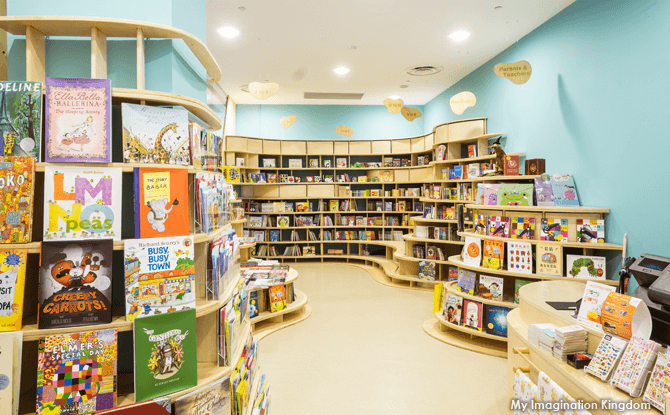 One of Singapore's Best Children's Bookstores - My Imagination Kingdom