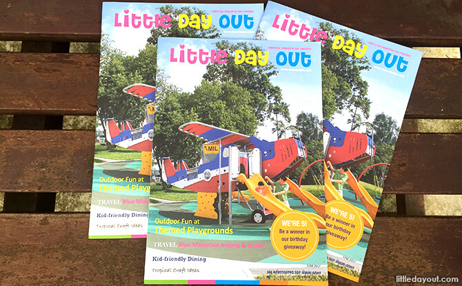 Where to Find Little Day Out's Print Magazine