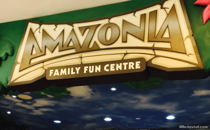 Amazonia Family Fun Centre Review, Great World City