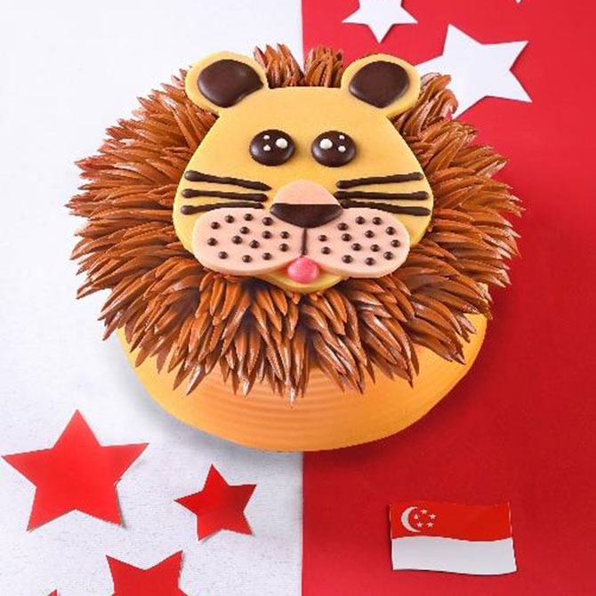 Mane Mane Cake - PrimaDeli Lion Cake