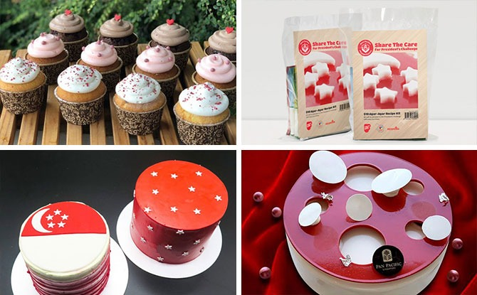 National Day-Themed Desserts & Food To Celebrate Singapore's 55th Birthday