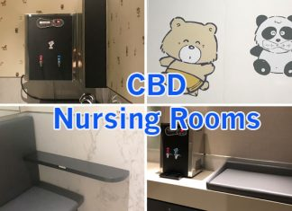 Nursing Rooms in the Singapore CBD
