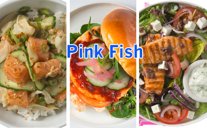 We Tried Three: Pink Fish Menu Items