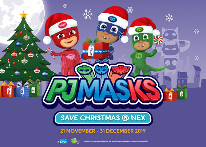 NEX – PJ Masks Live Show in Singapore 2019