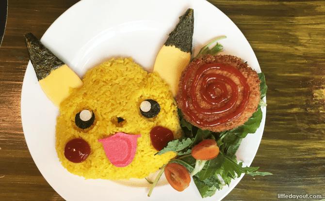 Pikachu Smiling Alola Region Curry Rice