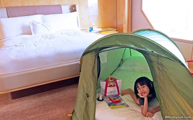 Ritz Kids Night Safari Adventures: In-Room Glamping With A Special Touch