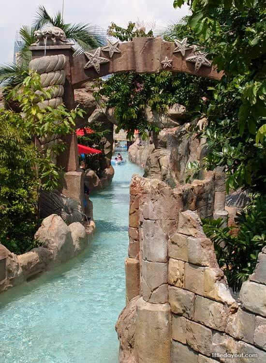 Adventure River at Adventure Cove Waterpark, Resorts World Sentosa
