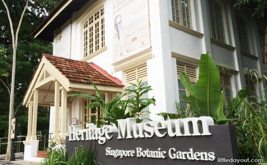 Singapore Botanic Gardens Heritage Museum