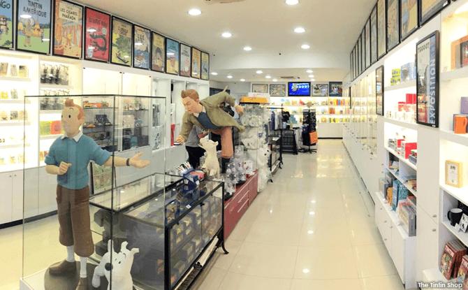 The Tintin Shop Closing