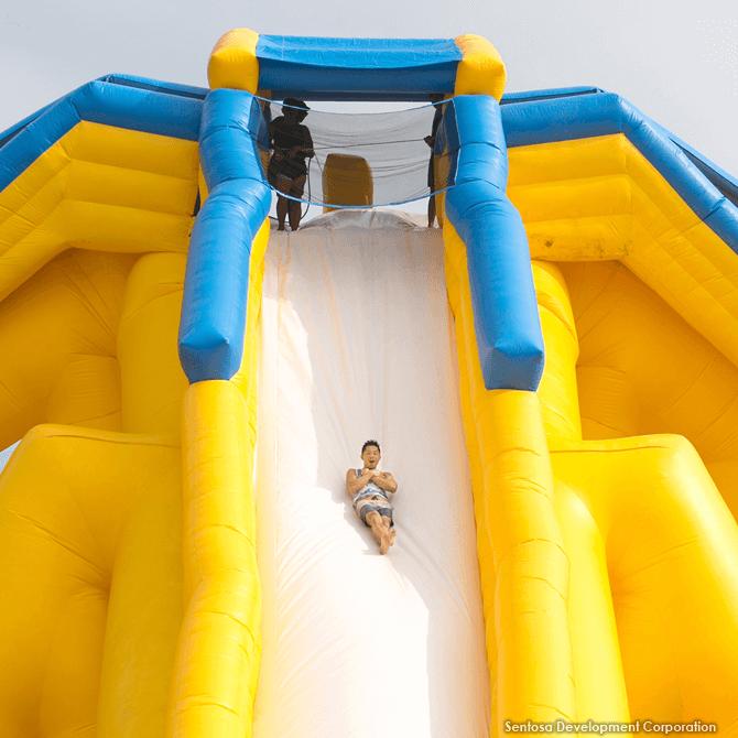 Mega Fun Slide, Sentosa, June 2017