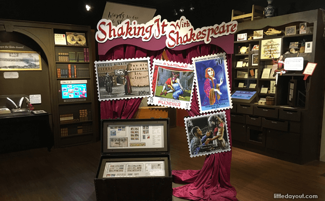 Shaking It With Shakespeare Exhibition
