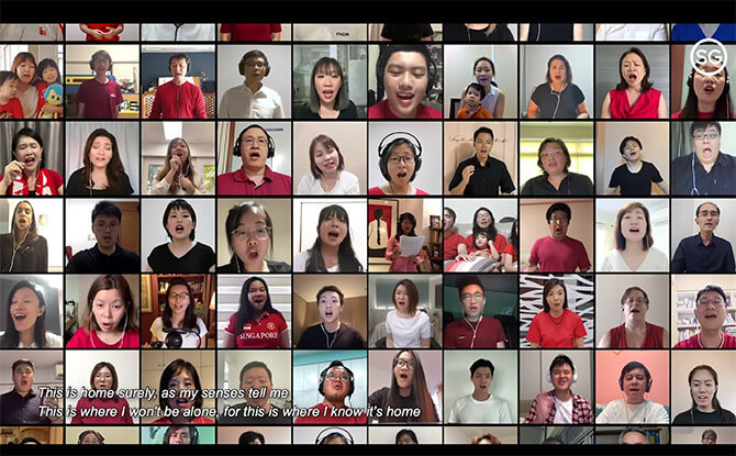 Virtual Choir Of 900 Singaporeans Around The World Come Together To Sing Dick Lee's Home