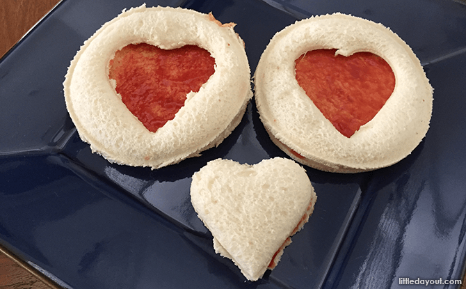 Heart-shaped Foods for Valentine's Day - Sweetheart Strawberry Bread