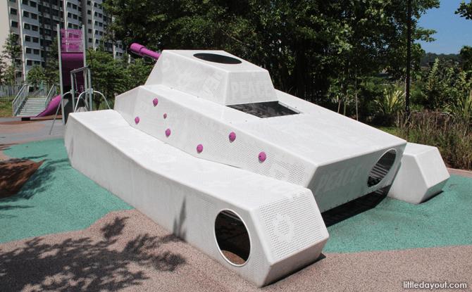 Tank Playground at Chua Chu Kang