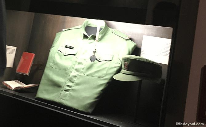 Temasek Green Uniform, Army Museum of Singapore