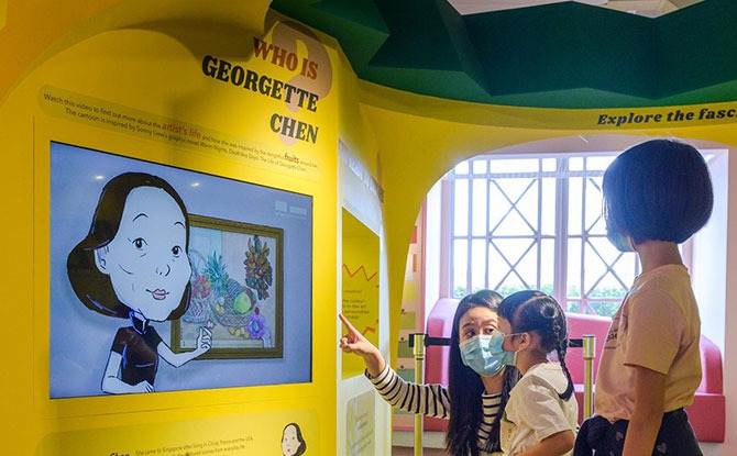 National Gallery Singapore Unveils Interactive Installation On Georgette Chen For Kids