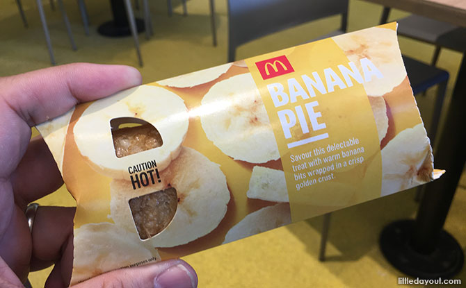 McDonald's Banana Pie Taste Test