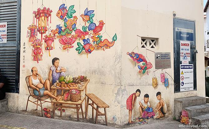 Mid-Autumn Festival Mural