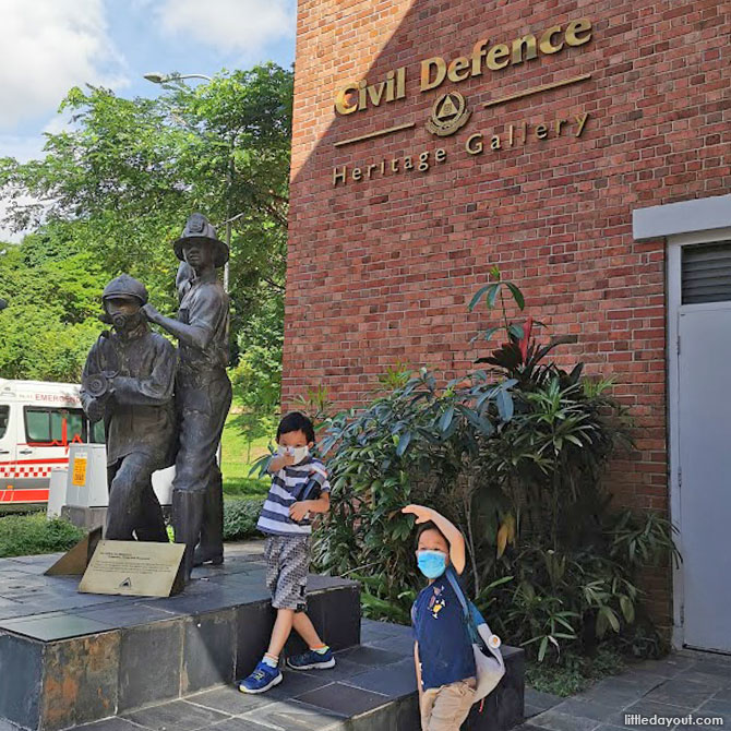 Civil Defence Heritage Gallery – A Gem for Fans of SCDF