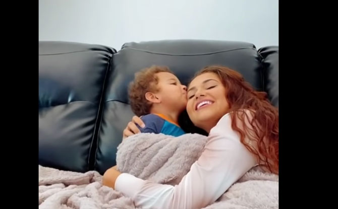 TikTok Cuddle Your Toddler Challenge Is Evoking Some Adorable Reactions