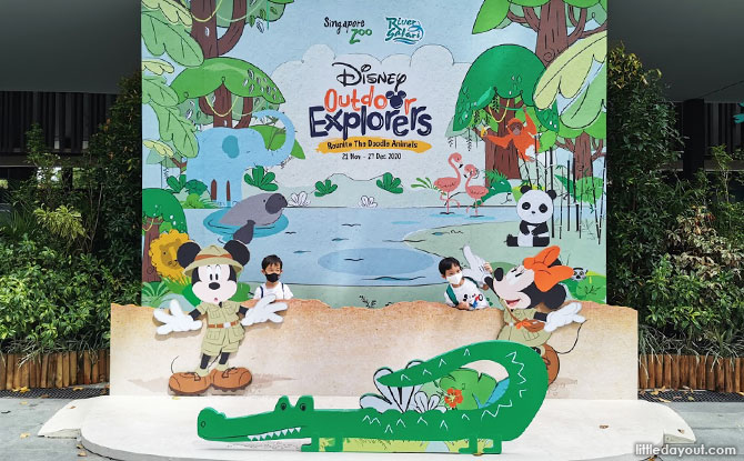 Disney Outdoor Explorers at Singapore Zoo and River Safari