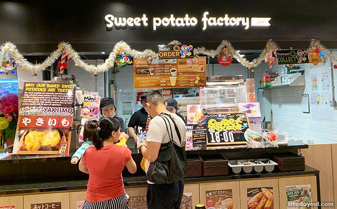 Sweet Potato Factory stall