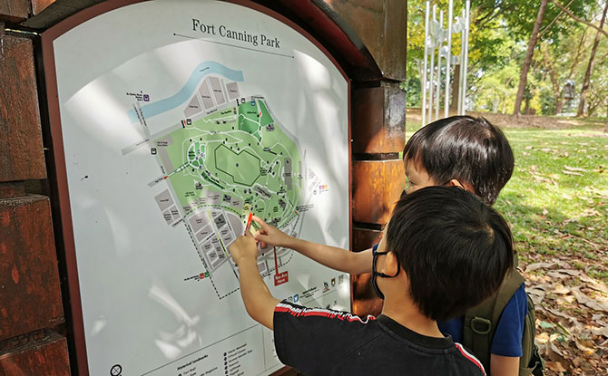 Family Review: Fort Canning Park Adventure Quest