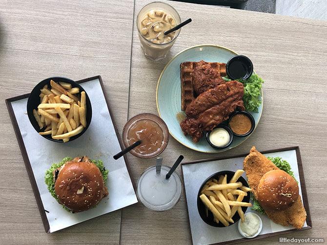 GRUB Balestier: Har Cheong Gai Waffles & Massive Fish Burger!