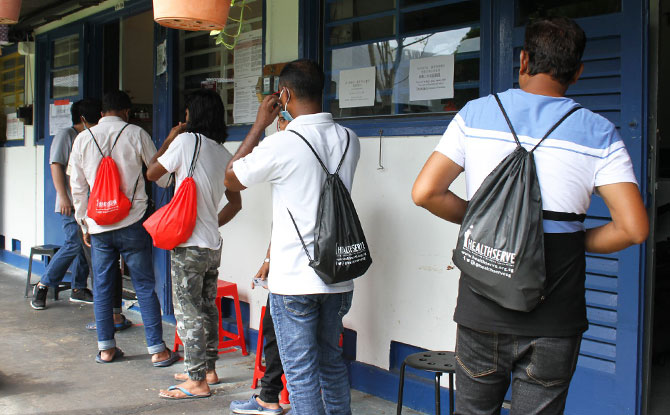 Needs and Concerns of the Migrant Worker Community